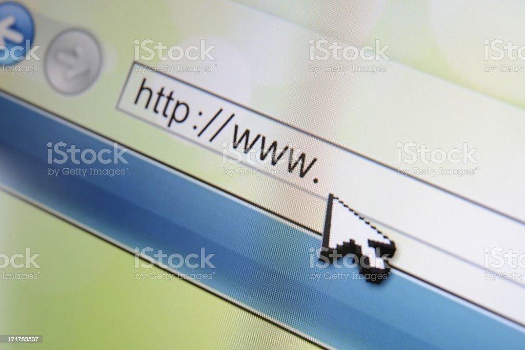 Web Page stock photo