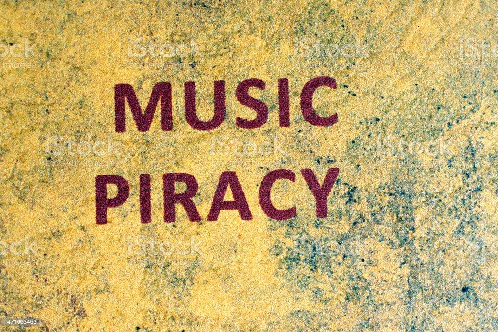 Web piracy concept royalty-free stock photo