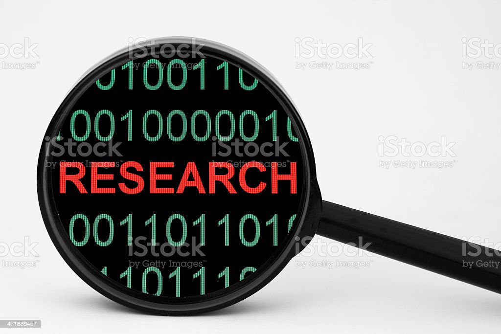 Web research royalty-free stock photo