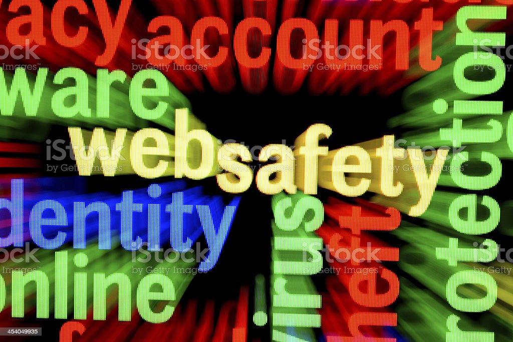 Web safety stock photo