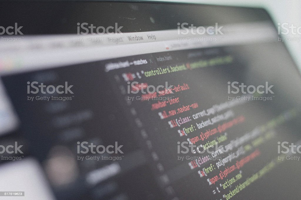 web script stock photo