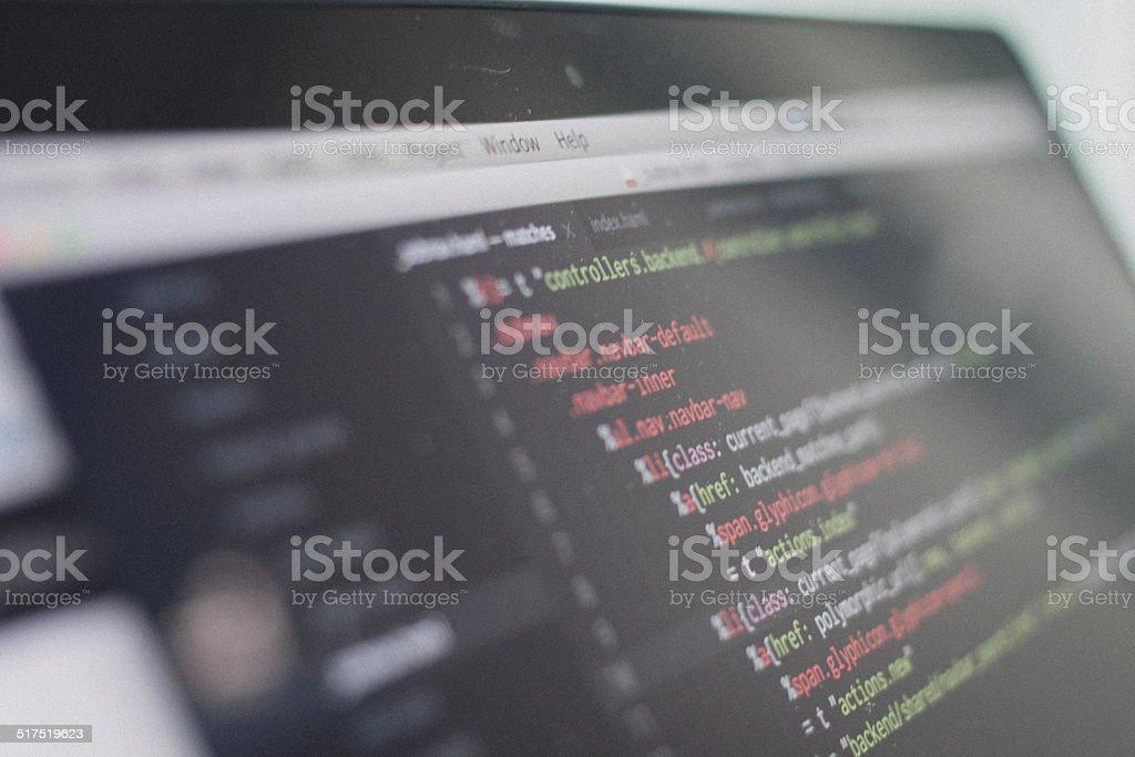 web script stock photo