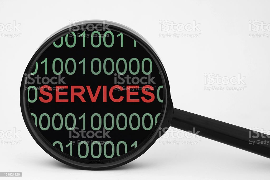 Web services royalty-free stock photo