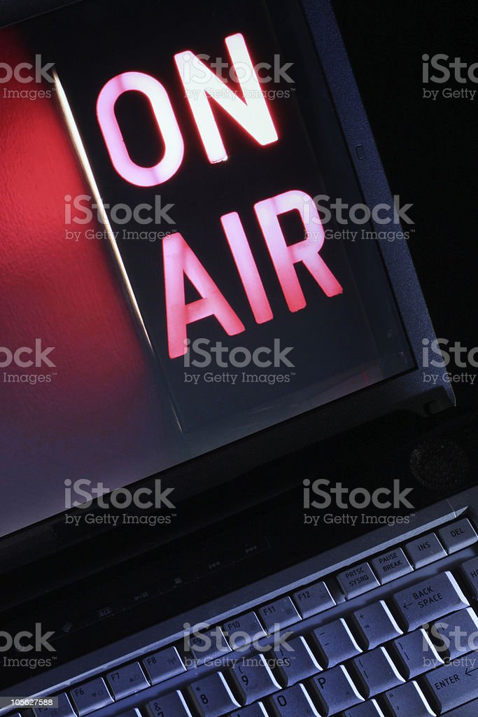 Web TV Vertical stock photo