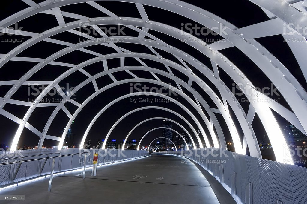 Webb Bridge royalty-free stock photo