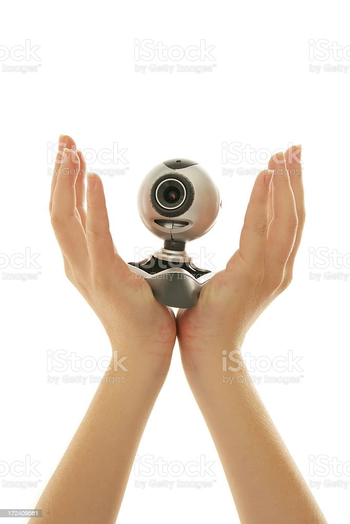 Webcam Lift royalty-free stock photo