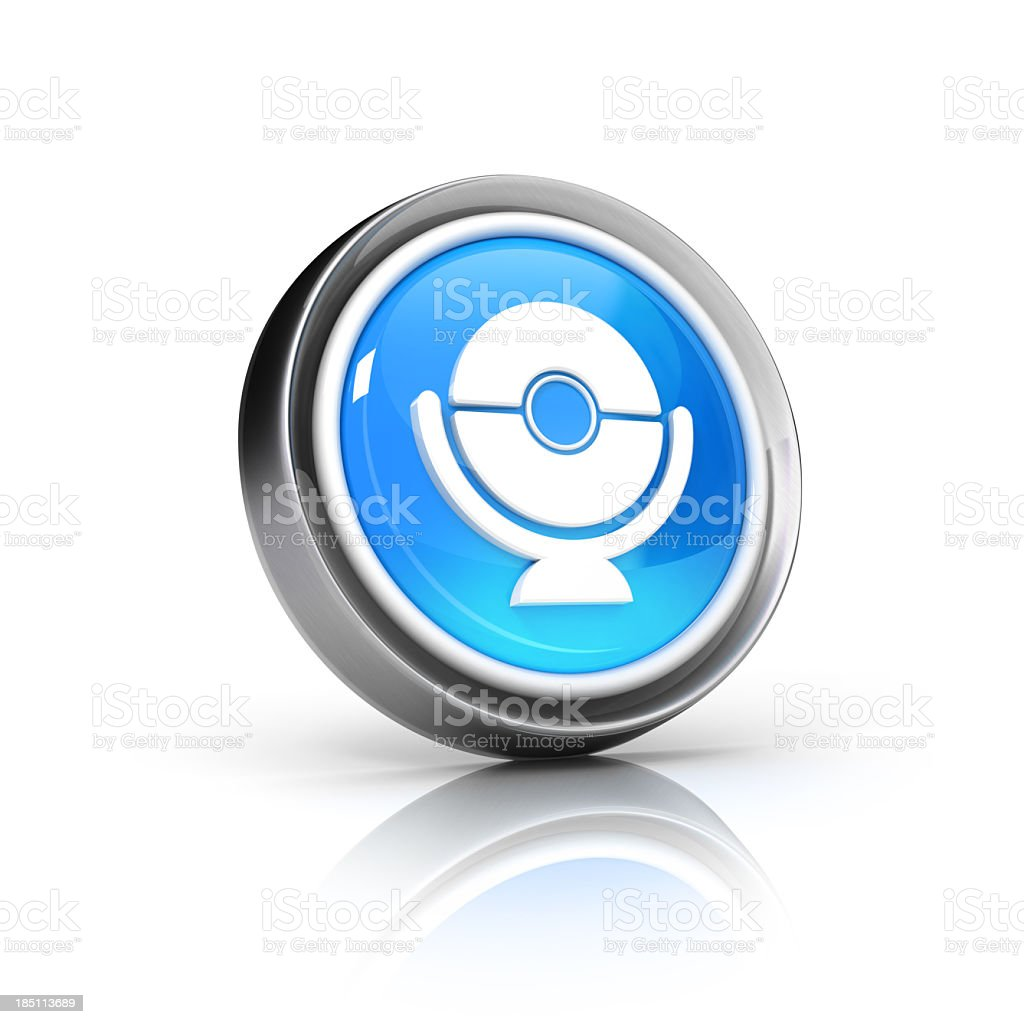 webcam or surveillance icon royalty-free stock photo