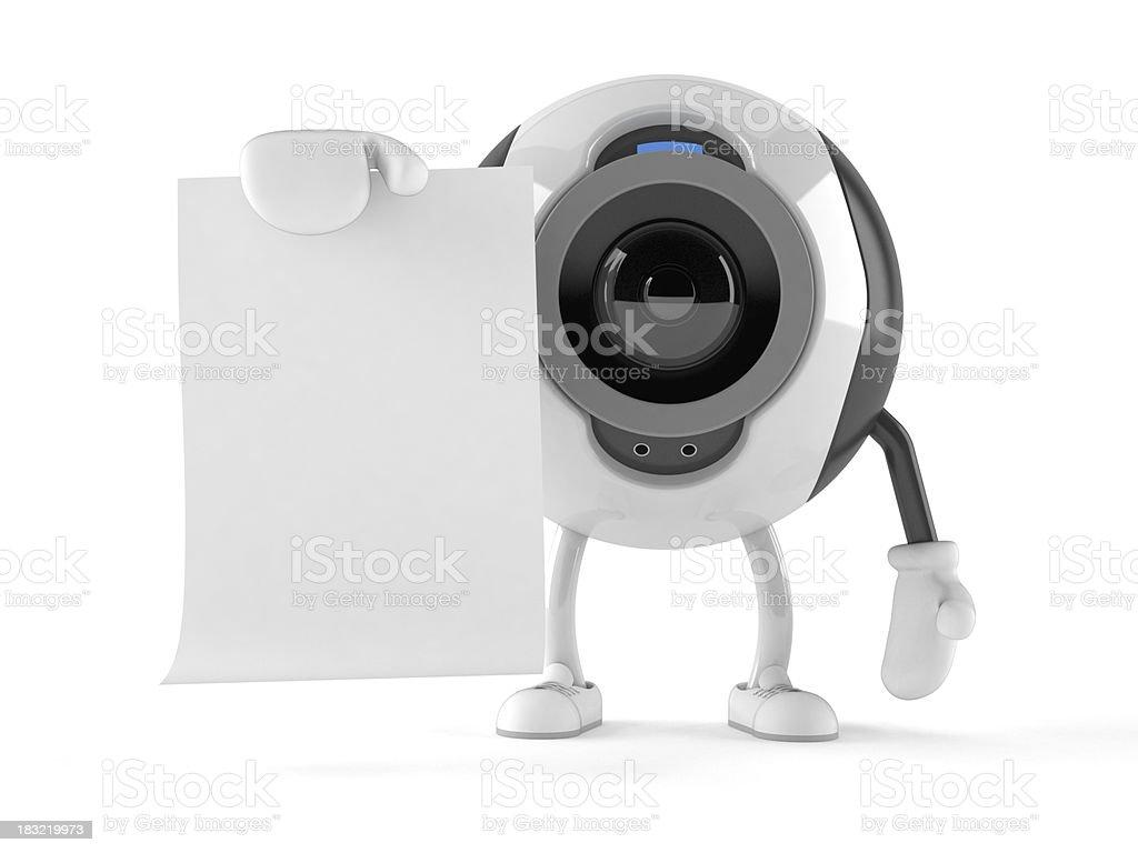 Webcam royalty-free stock photo