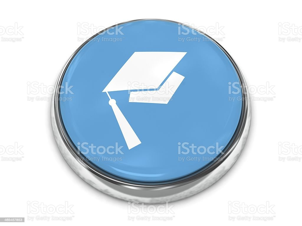 Webinar education button royalty-free stock photo