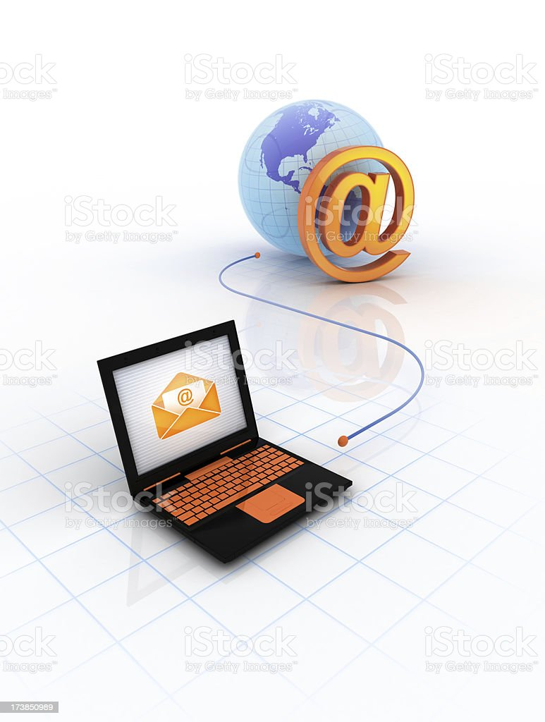 Webmail stock photo
