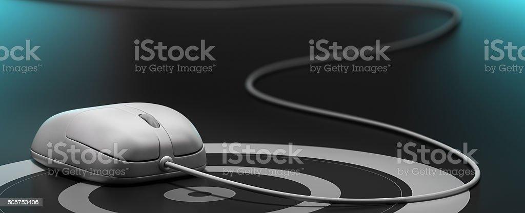 webmarketing or e-marketing stock photo
