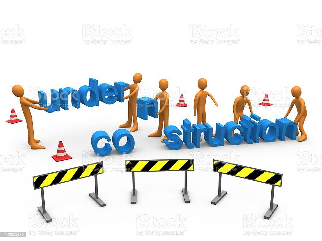 Website Construction stock photo