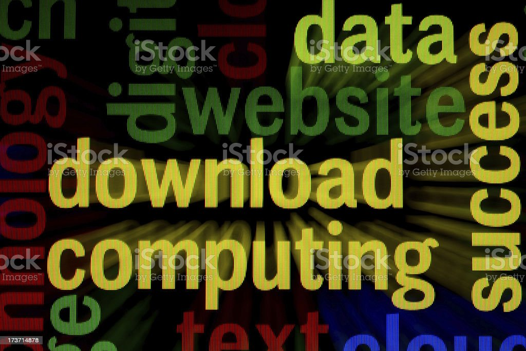 Website download royalty-free stock photo