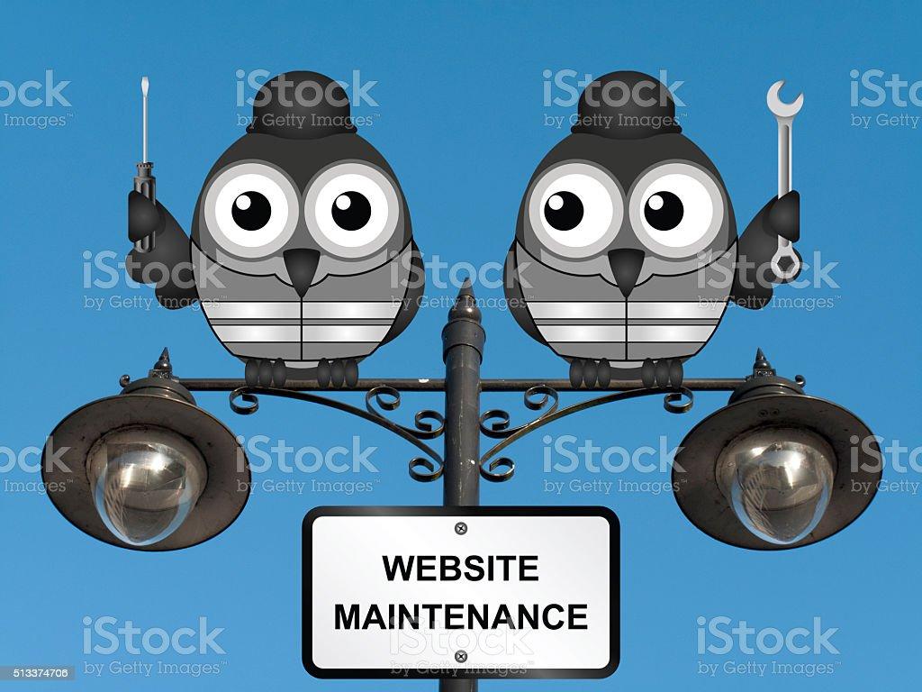 Website Maintenance stock photo