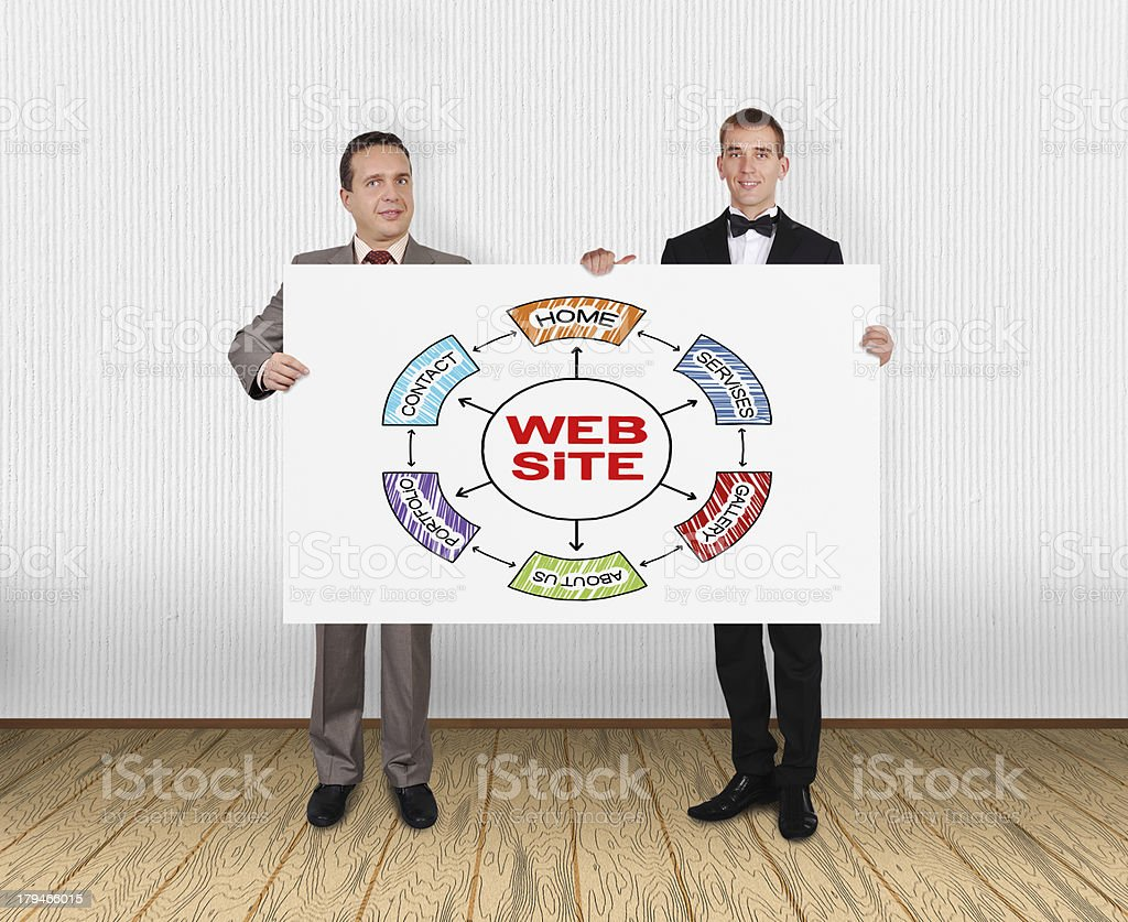 website  scheme royalty-free stock photo