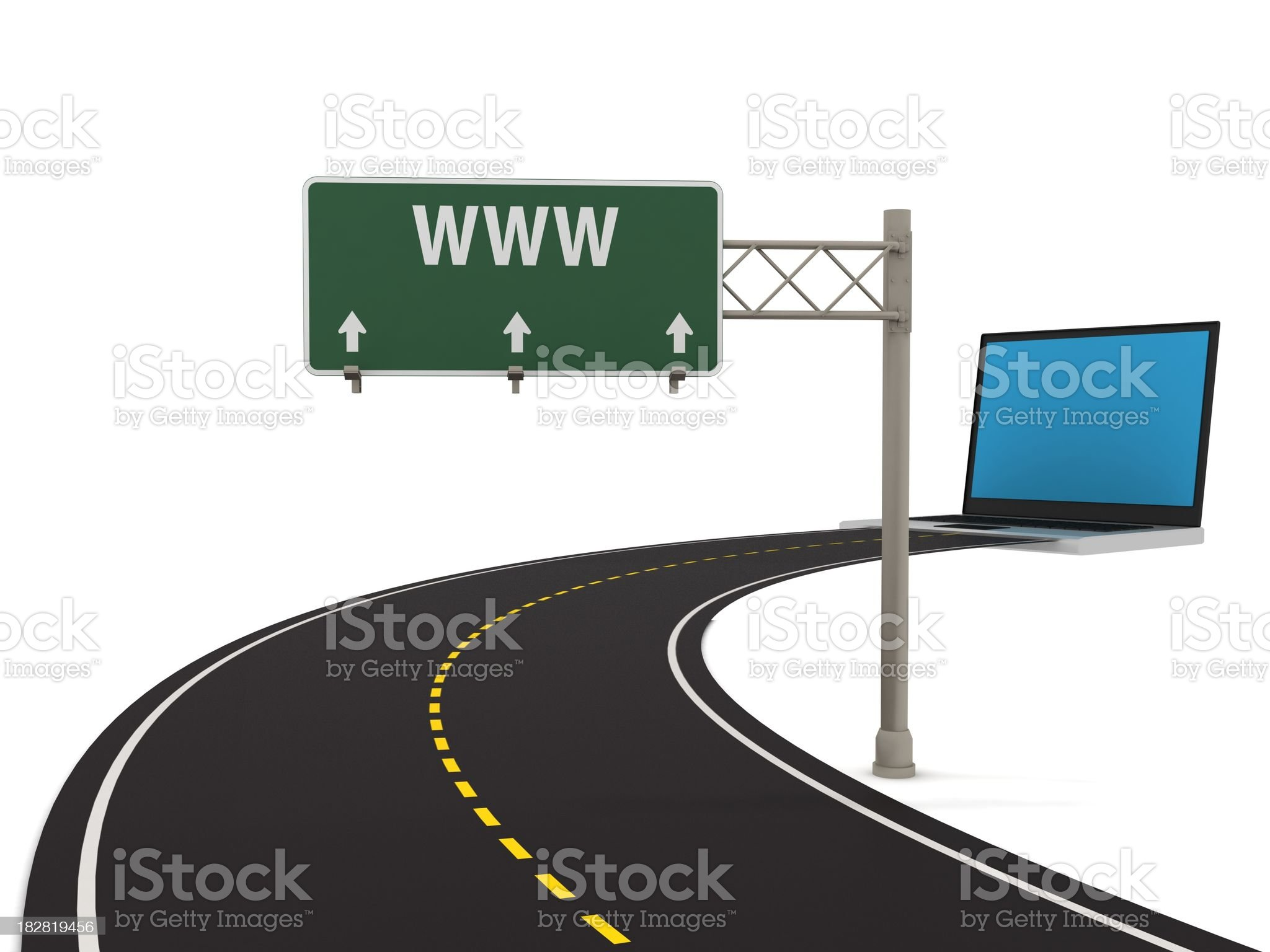 Website Traffic royalty-free stock photo