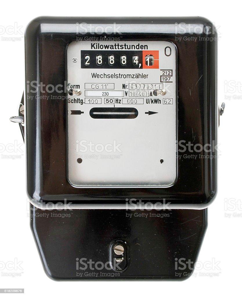 Wechselstromzähler stock photo