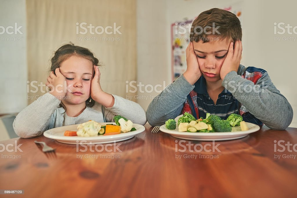 We'd rather go on a hunger strike stock photo