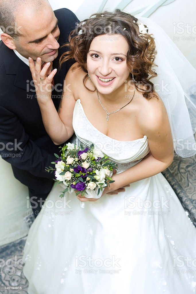 Wedded royalty-free stock photo