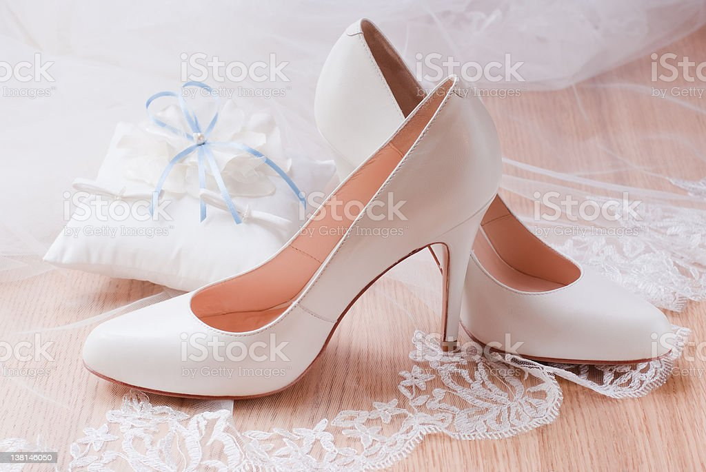 Wedding accessories. royalty-free stock photo