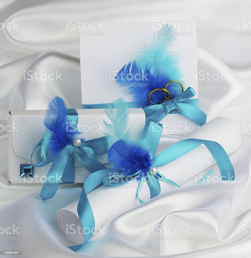 wedding accessories royalty-free stock photo