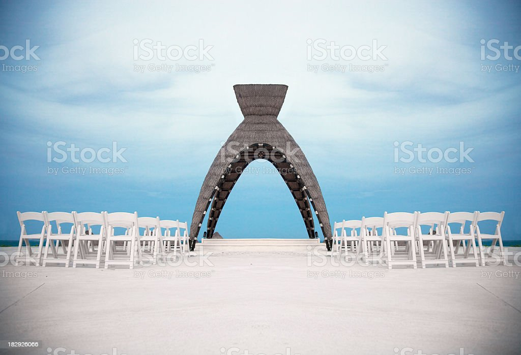 Wedding Altar royalty-free stock photo