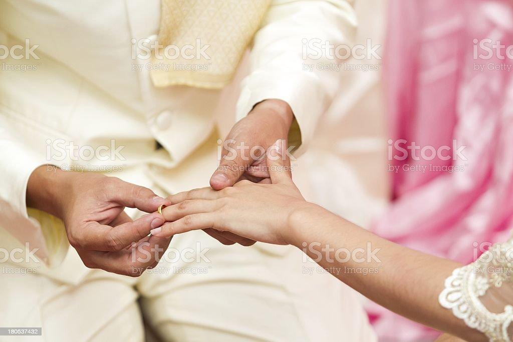 wedding asia royalty-free stock photo