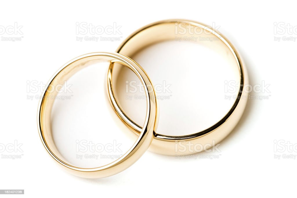 Wedding bands royalty-free stock photo