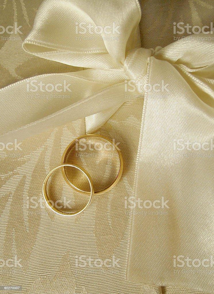 wedding bands2 royalty-free stock photo