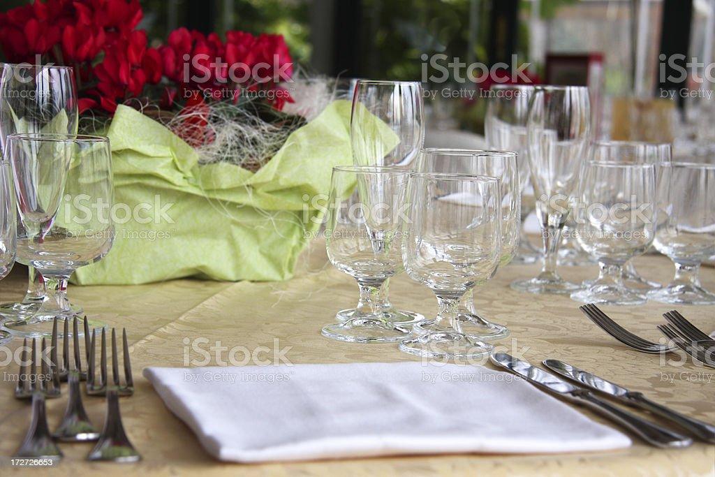 Wedding banquet royalty-free stock photo
