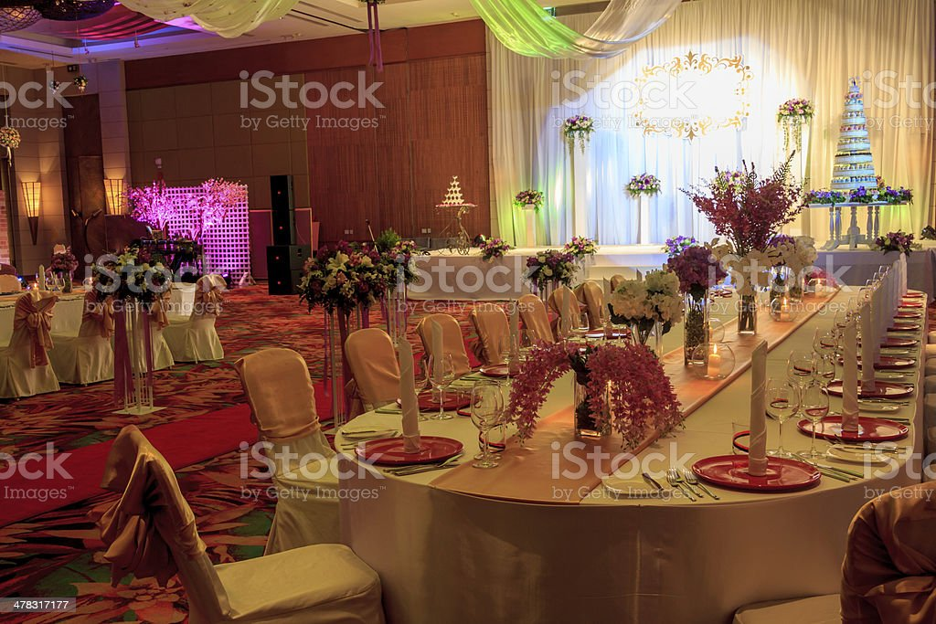 Wedding Banquet royalty-free stock photo