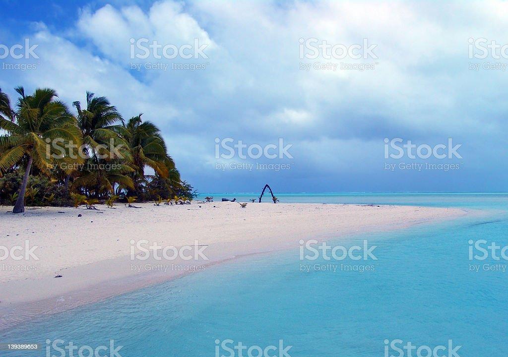 Wedding Beach royalty-free stock photo