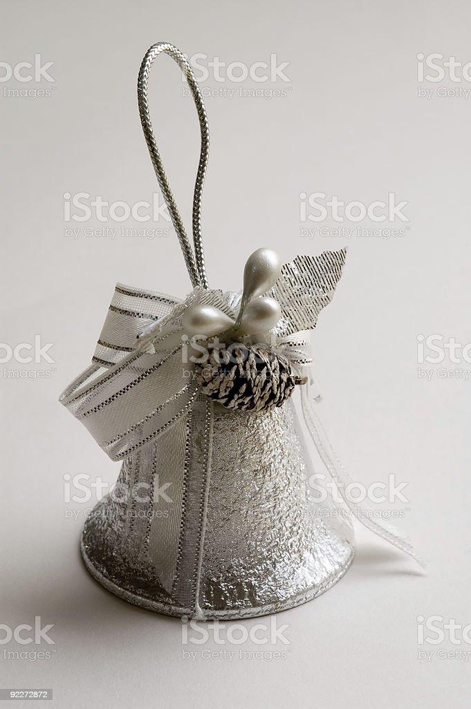 Wedding Bell - Christmas Ornament royalty-free stock photo