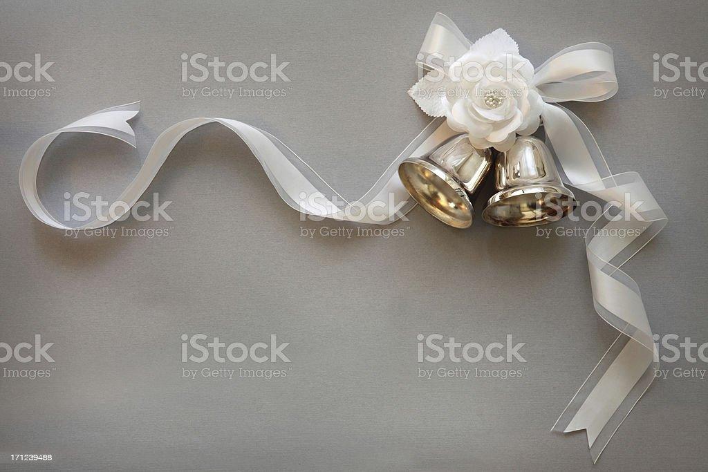 Wedding Bells stock photo