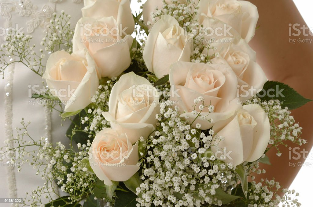 Wedding bouquet - close-up royalty-free stock photo