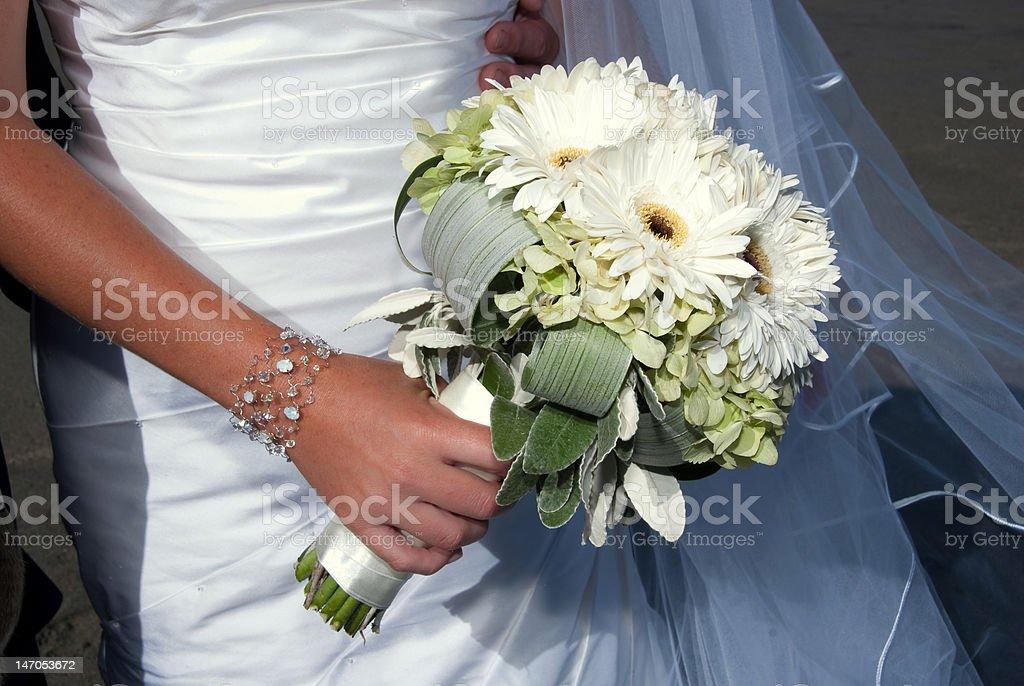 Ramo de bodas foto de stock libre de derechos