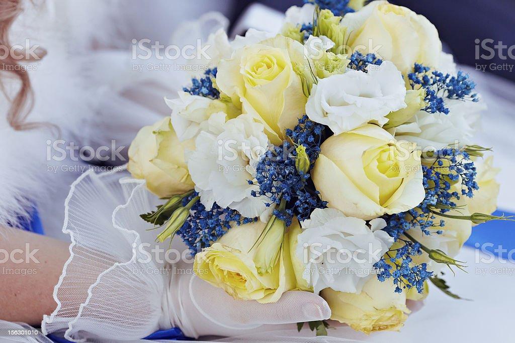 bouquet da sposa foto stock royalty-free