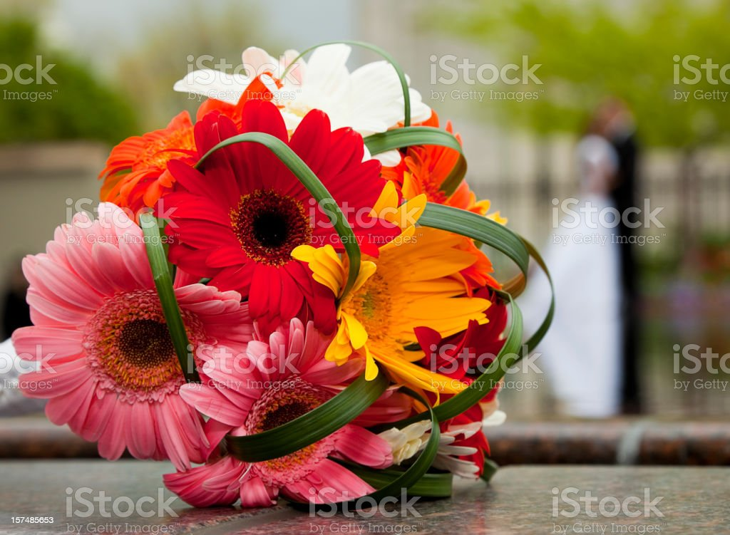 Wedding Bouquet royalty-free stock photo