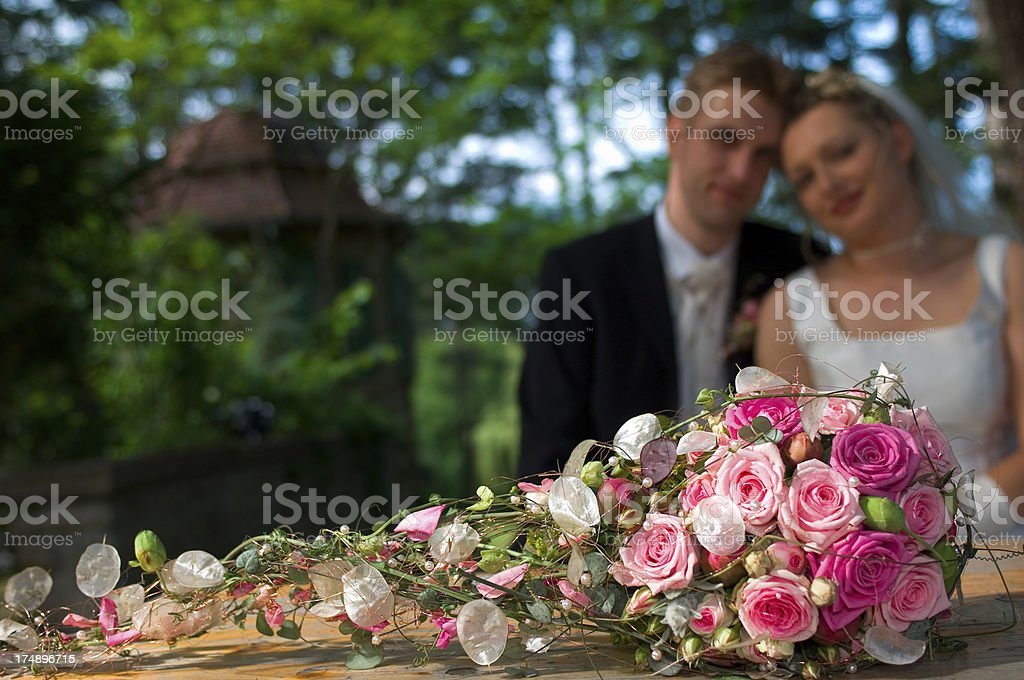 wedding: bouquet royalty-free stock photo