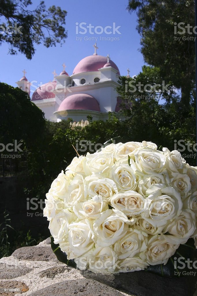 Wedding bouquet. royalty-free stock photo