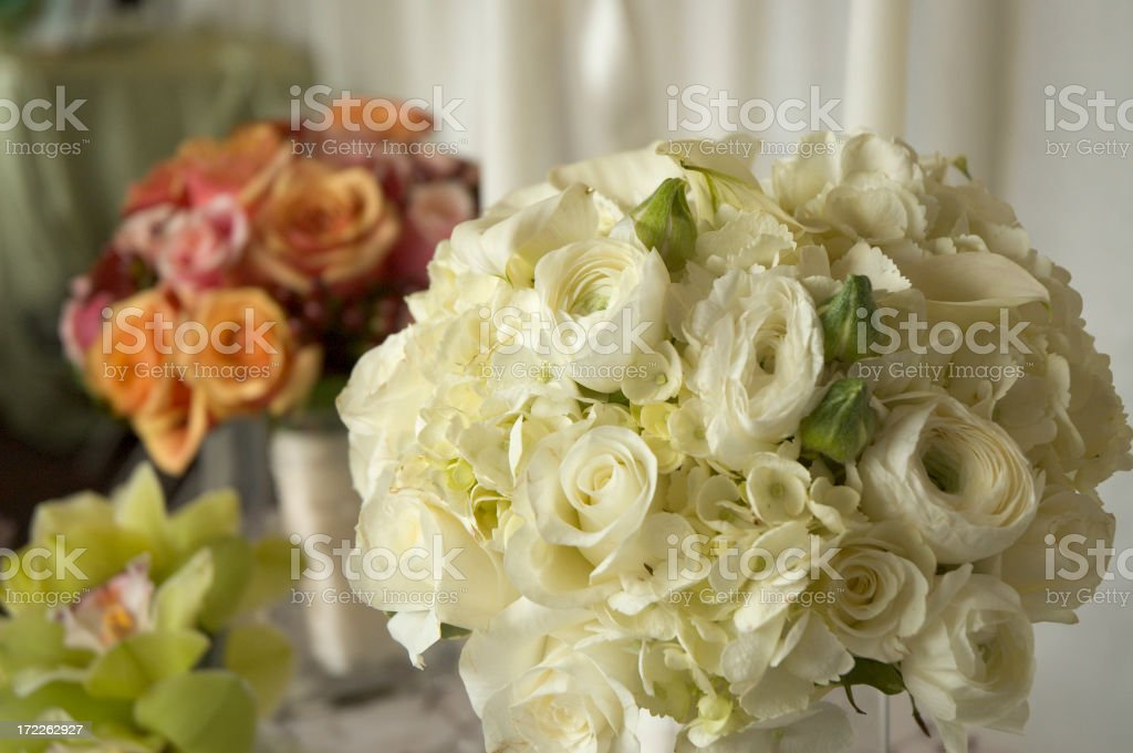 Wedding Bouquets royalty-free stock photo