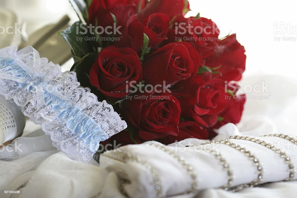 Wedding - Bridal Accessories royalty-free stock photo
