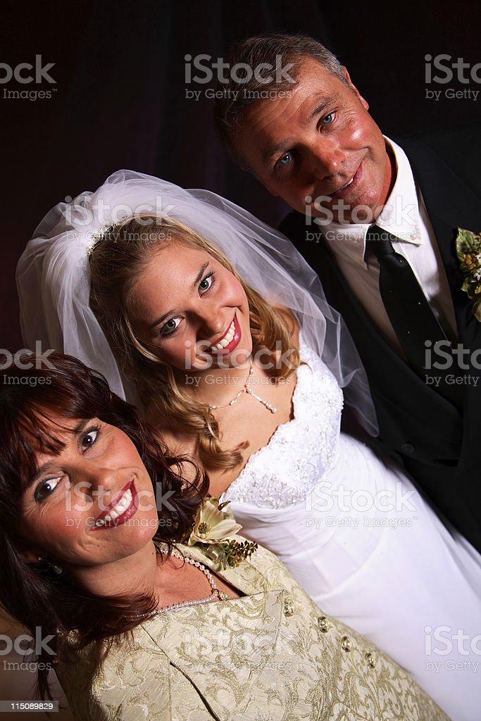 wedding bride portrait royalty-free stock photo
