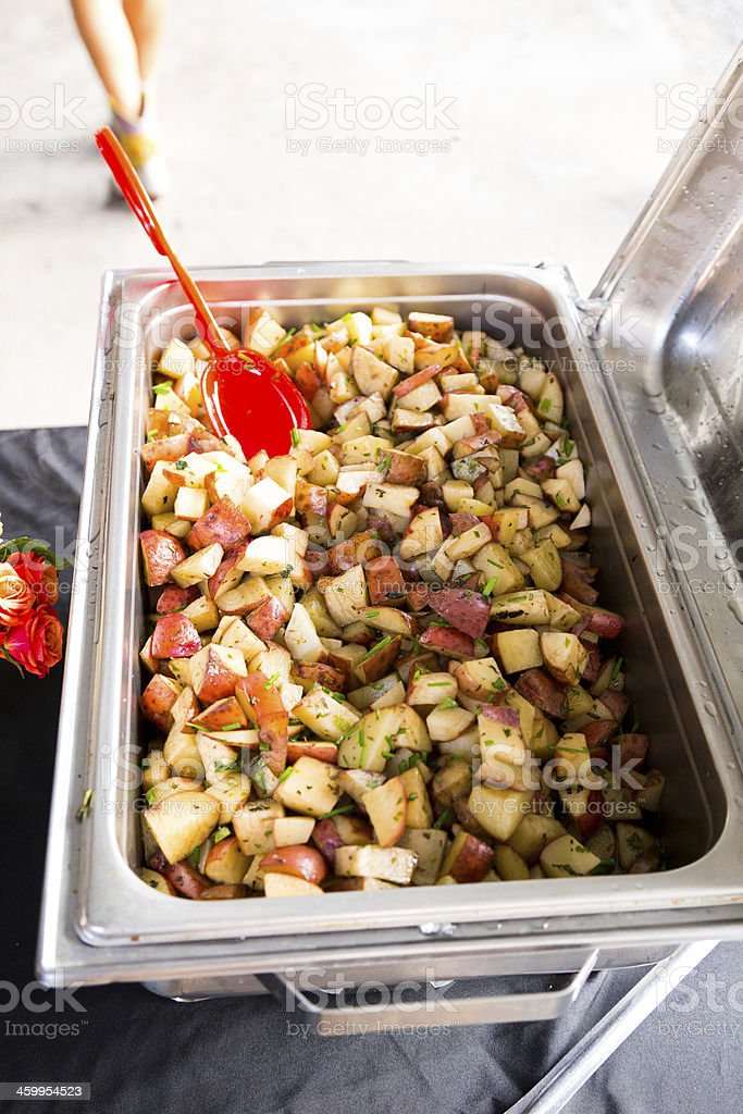 Wedding Buffet Food Detail royalty-free stock photo