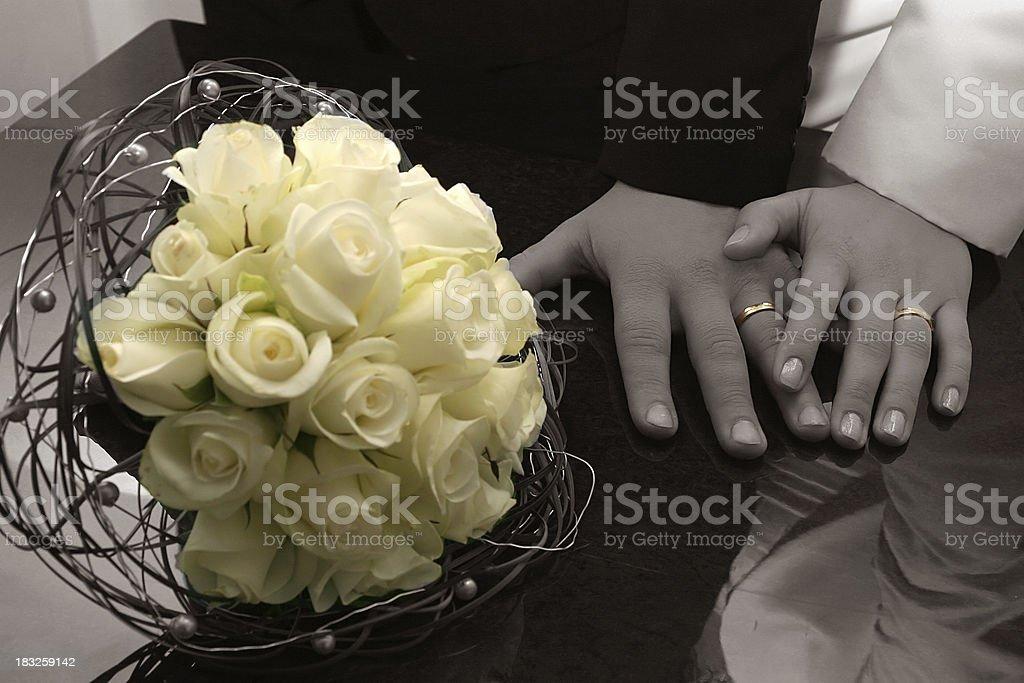 Wedding bunch royalty-free stock photo