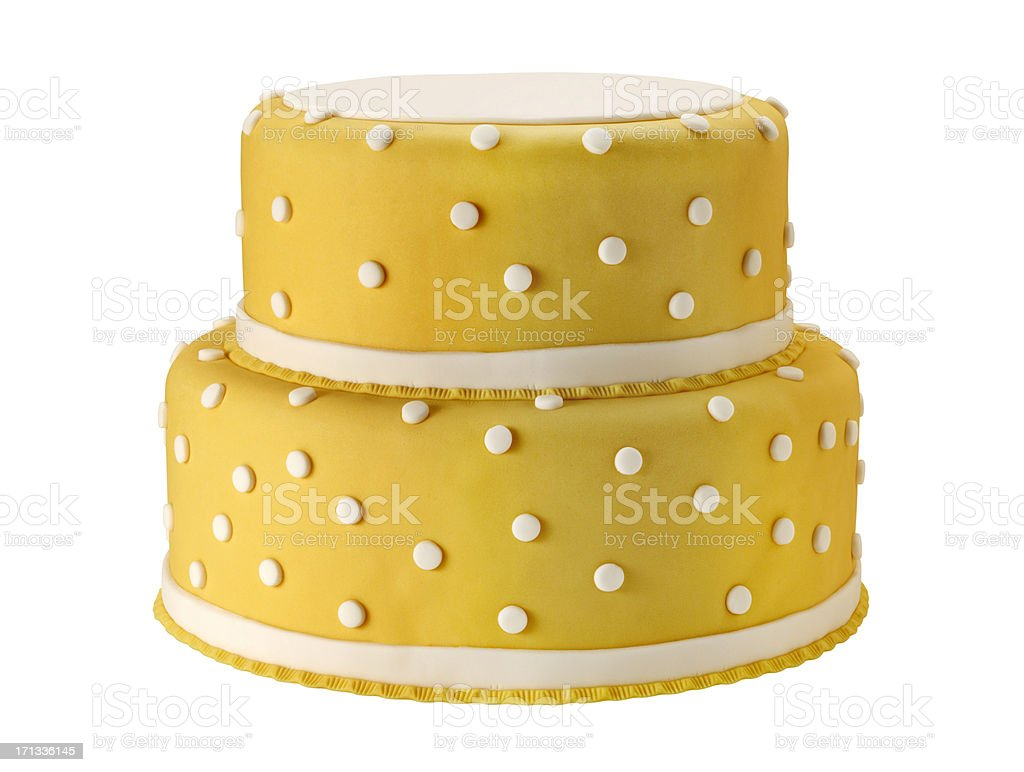 Wedding Cake +Clipping Path (Click for more) royalty-free stock photo