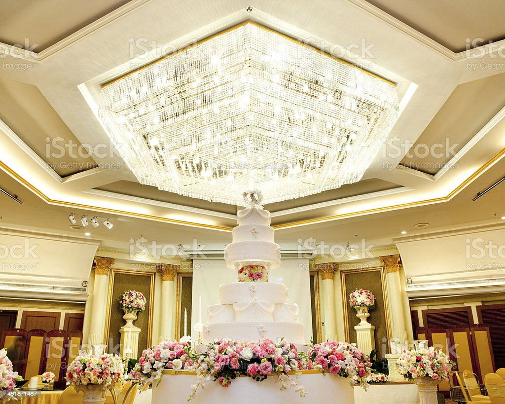 Wedding Cake royalty-free stock photo