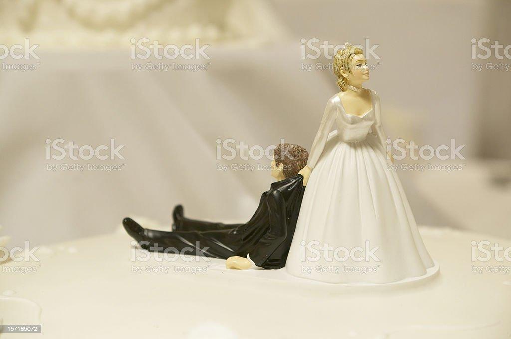 Wedding Cake Top royalty-free stock photo
