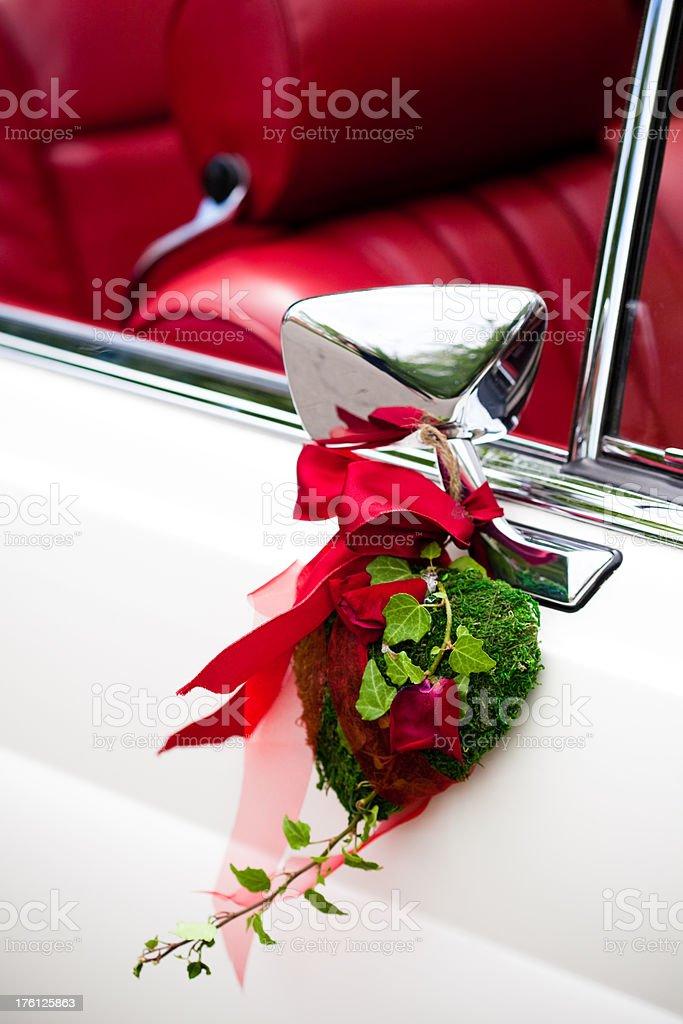 Wedding Car Detail royalty-free stock photo