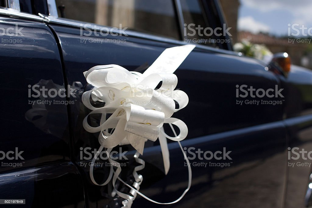 wedding car royalty-free stock photo